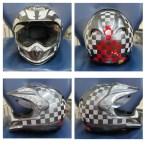 helmet reflective tape scotchlite motorcycle motor bike forum safety hi vis diy