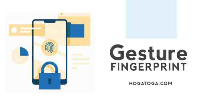 Fingerprint gesture app download