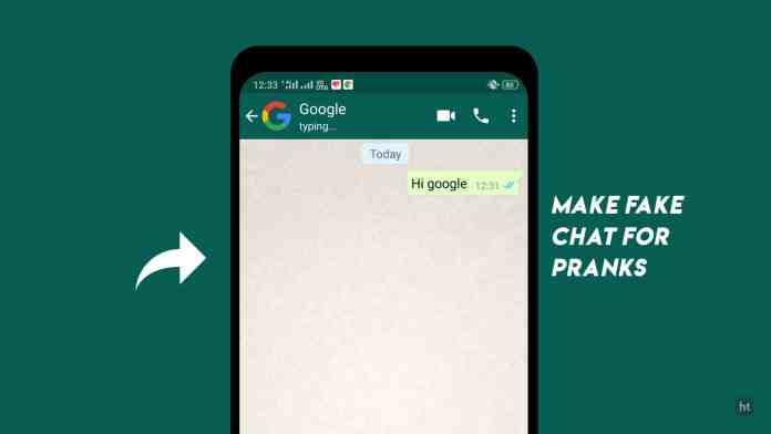 Fake WhatsApp Chat