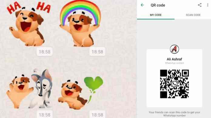 WhatsApp scan code