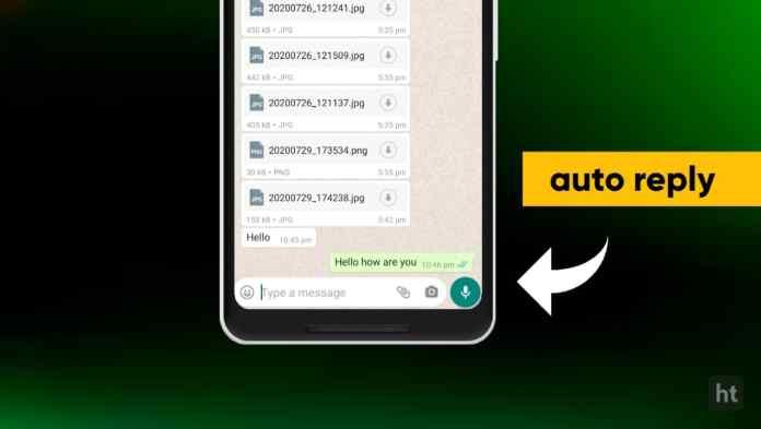 whatsapp auto responder