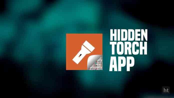 Hidden Torch app