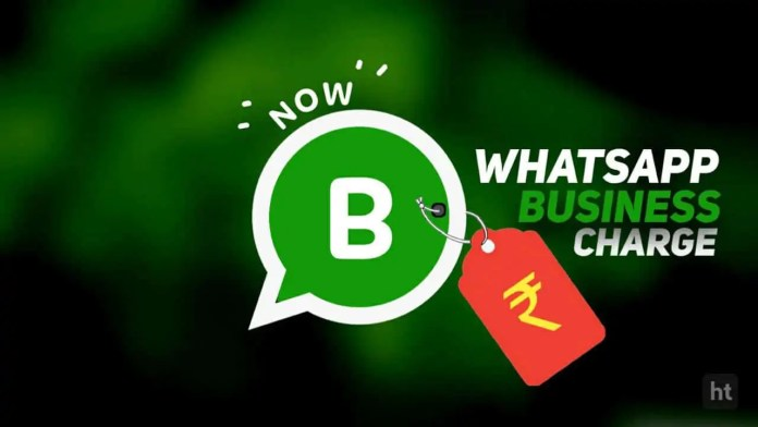 Facebook charge for WhatsApp Business