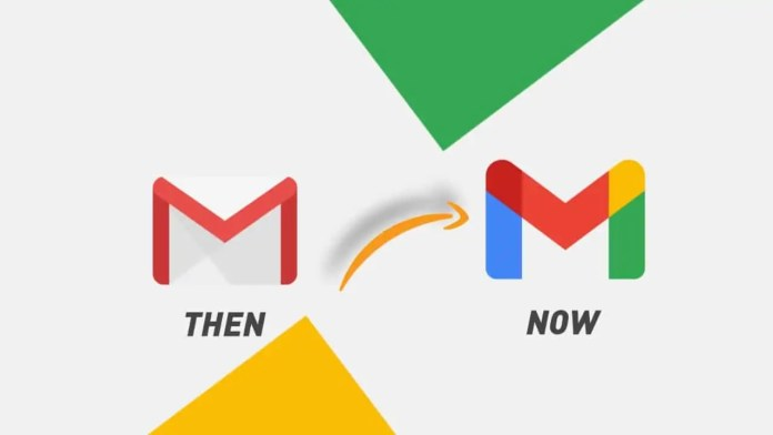 Google change Gmail logo