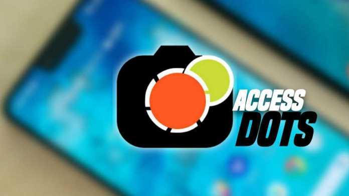 Cam/Mic Access Dots app