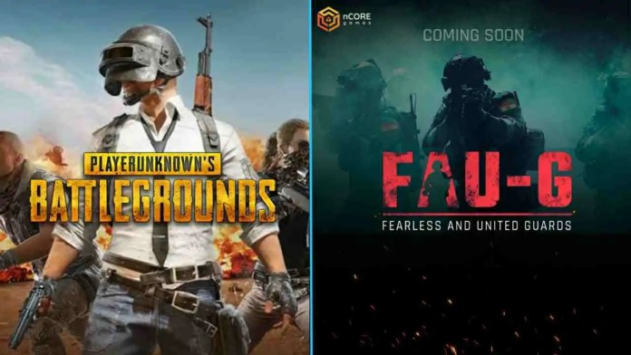 PUBG and FAU-G game difference