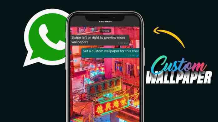 WhatsApp Custom Wallpapers feature
