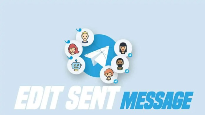 Edit sent messages on Telegram