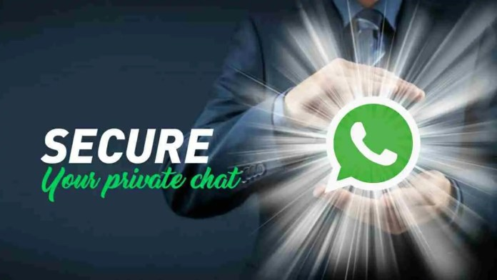 WhatsApp four ways to secure chat