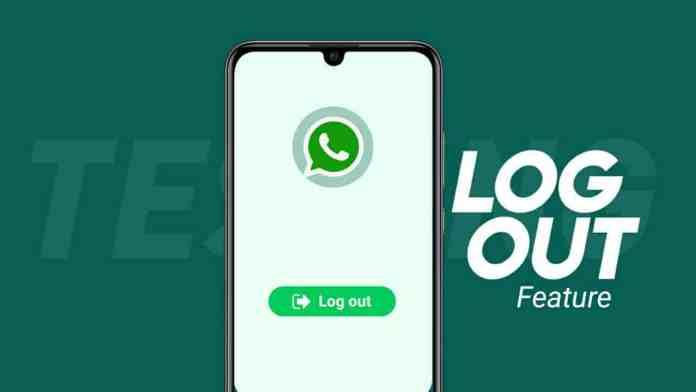 WhatsApp new logout feature