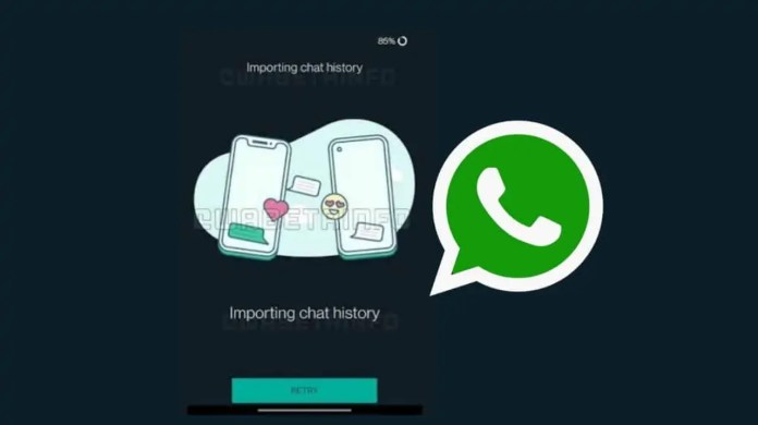 WhatsApp chat migration on different numbers