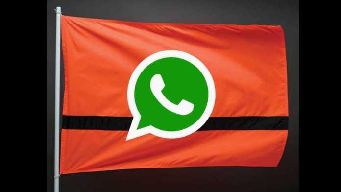 WhatsApp new Refugee Nation flag