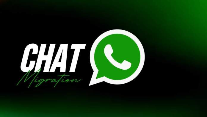 WhatsApp working on Chat migration