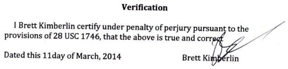 ECF 102 verification