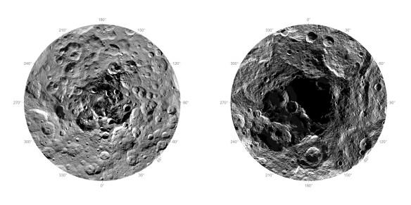 Ceres N&S Poles