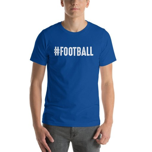 Football w mockup Front Mens True Royal