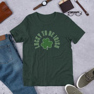 Lucky 2b Irish 1a mockup Front Flat Lifestyle Heather Forest
