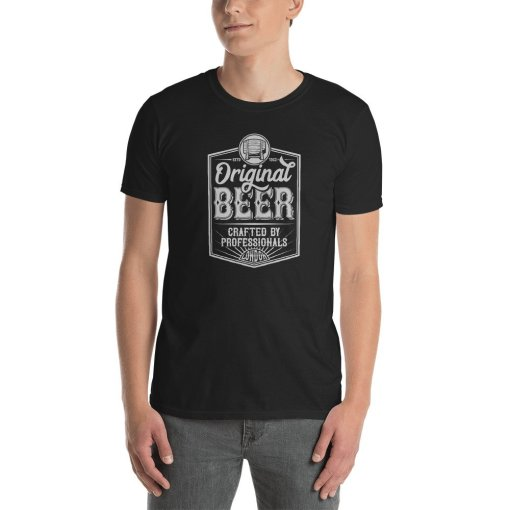 Original Beer mockup Front Mens Black