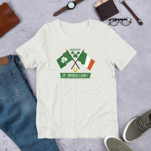 St Pats Flags mockup Front Flat Lifestyle Ash