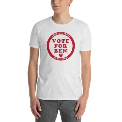 Vote for Ben Round 1b mockup Front Mens White