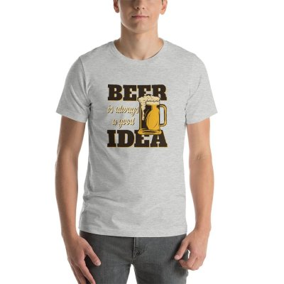 beer set 8 mockup Front Mens Athletic Heather