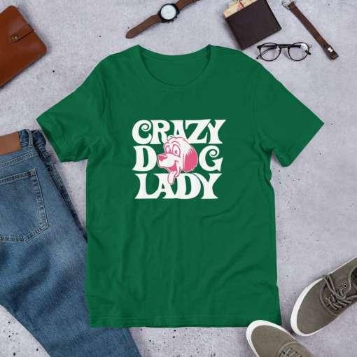 crazy dog lady mockup Front Flat Lifestyle Kelly