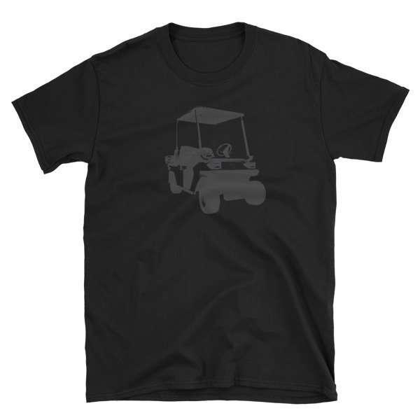 Golf Cart Short-Sleeve Unisex T-Shirt