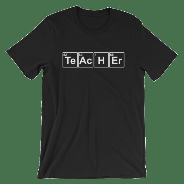 Teacher Periodic Table Short-Sleeve Unisex T-Shirt