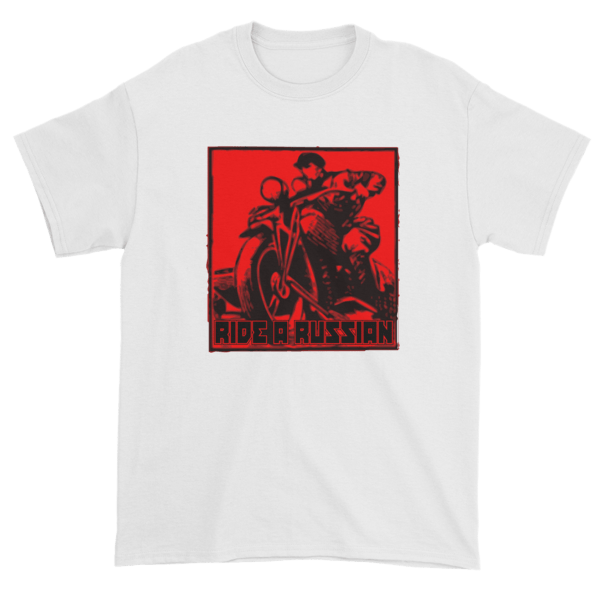 Ride a Russian Square Short sleeve t-shirt