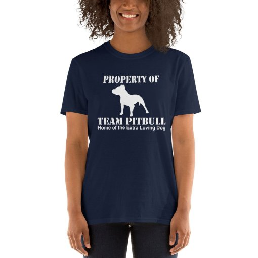 team pitbull home of the mockup Front Womens 2 Navy