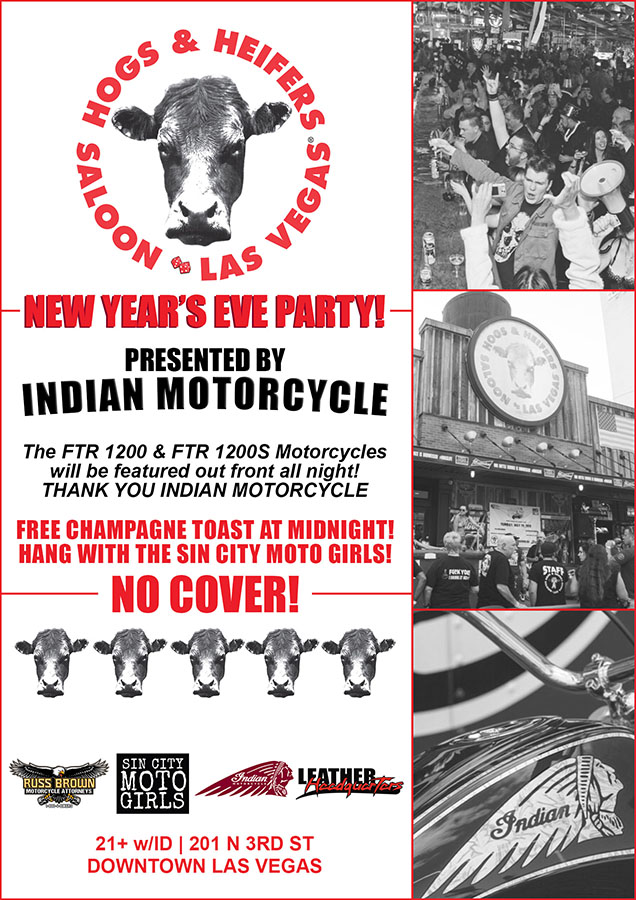 Hogs & Heifers Saloon NYE 11 WEB