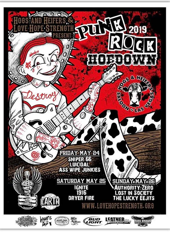 2019 Punk Rock Hoedown Hogs & Heifers Saloon web