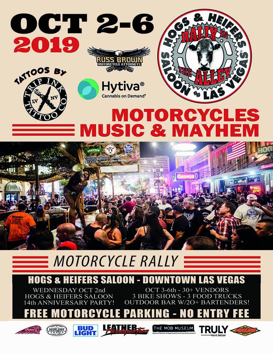 Rally in the Alley | Las Vegas Bike Week | Downtown Las