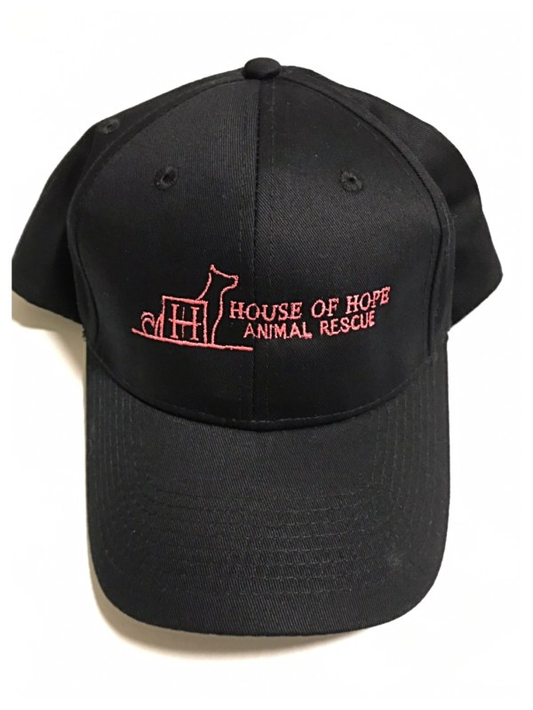 Black House Of Hope Animal Rescue Hat