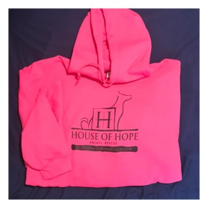 House of Hope Pink Hoodie