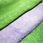 Heated towels create a luxury massage