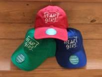 Heart Girl Caps!