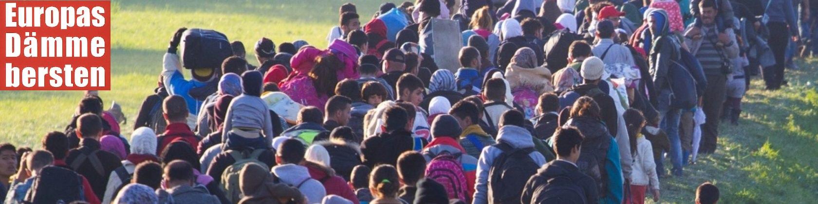 Europas Dämme bersten. Ursachen, Hintergründe und Folgen des Flüchtlings-Tsunamis – Der Blog zum Buch