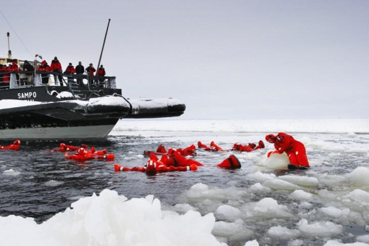 arktik yüzme