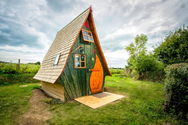 ilginç aribnb evleri klübe