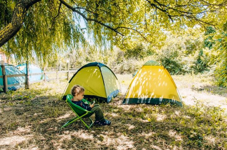 Kıyıköy'de kamp