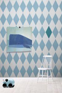 Tapety w romby  Design dla dzieci  Hohonie bloguj