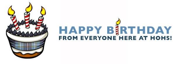 Happy Birthday to Hannah, Year 10!