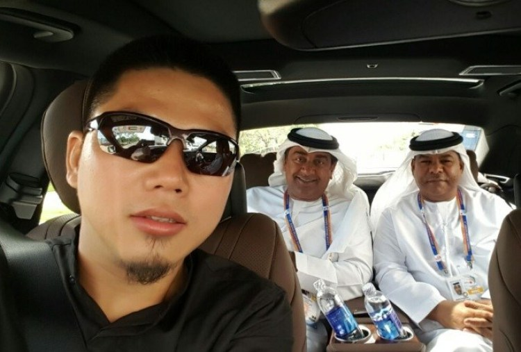 Danang VIP Car Charter - VIP United Arabic Emirates Group on the 5th ABG 2016