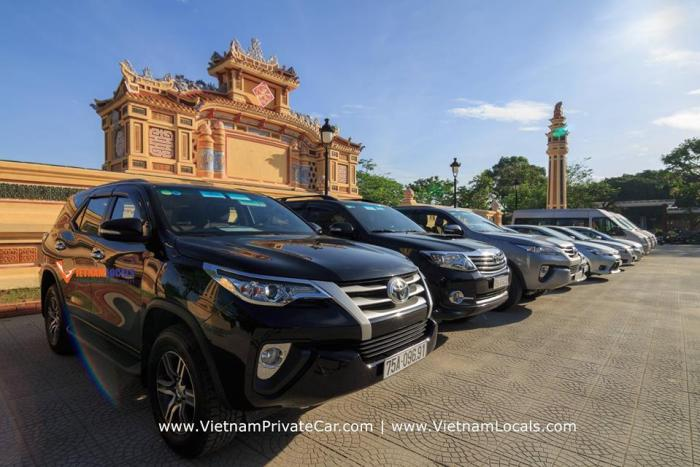 Luxury car Saigon to Dalat