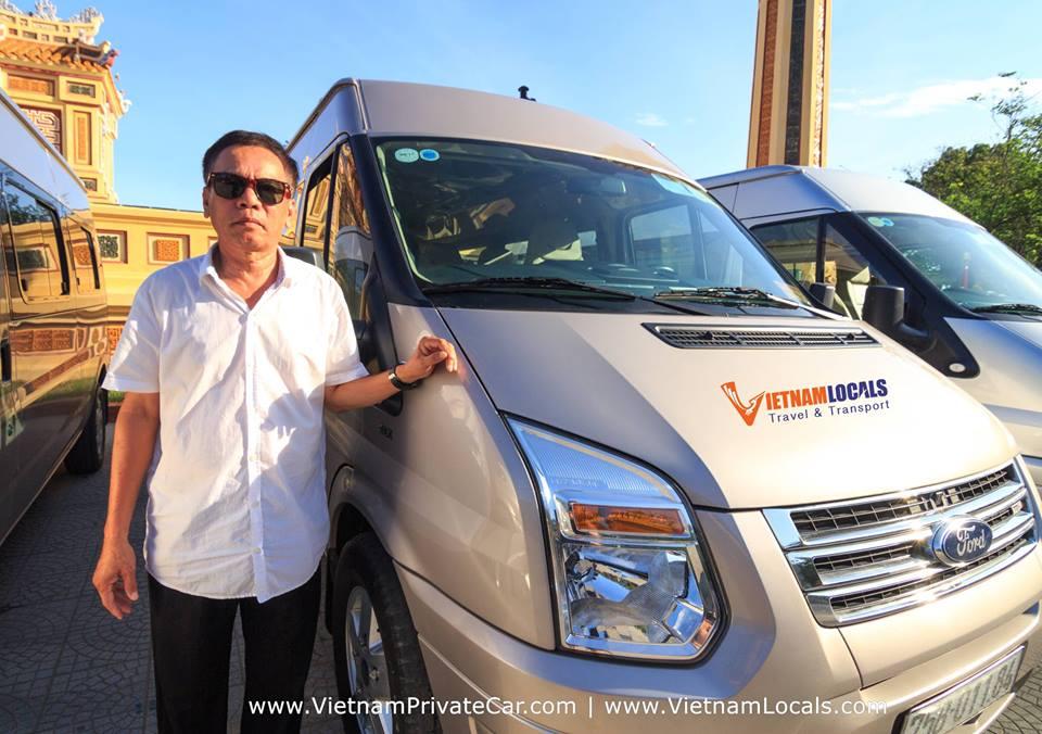 VAN-Private driver Hoian