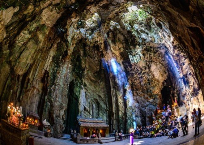 Grotto at Marble Mountains