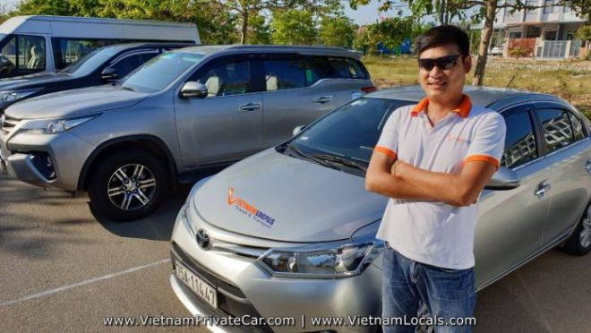 Vietnam Locals Mr Man VIOS 4 seats