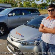 Toyota Vios 4 Seats - Sedan - Hoi An Private driver