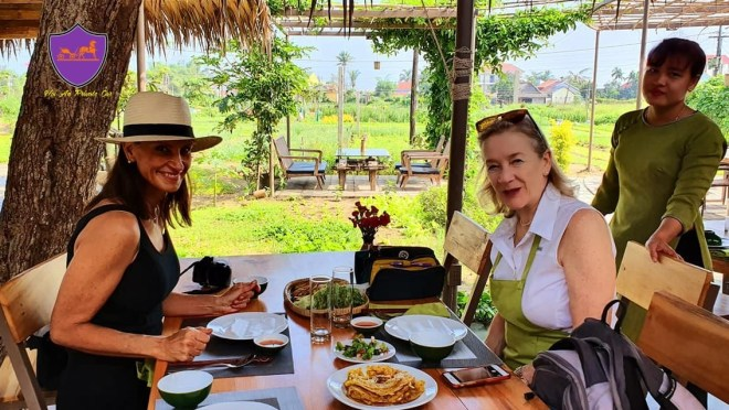 Cooking Class at Tra Que Village- Hoi An Private Car
